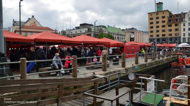 Bergen, Nordnes og Fisketorget 493
