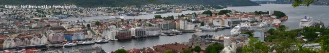 Bergen, Nordnes og Fisketorget 366