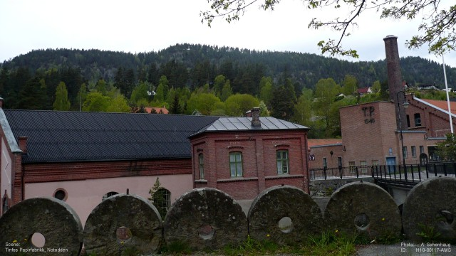 Papirfabrikken  Tinfos 117b